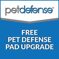Save on your Pet Defense carpet with a free pad upgrade